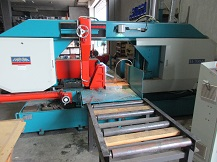 Automatic Bandsaw Machine Cutting