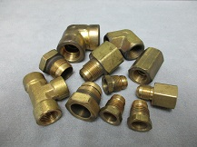 Brass Inverted Flare Fittings